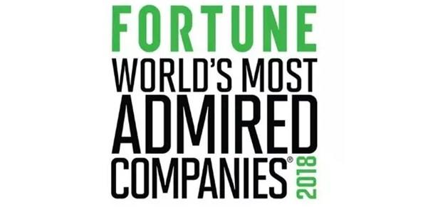 """英格索兰连续六年当选《财富》杂志""""全球最受尊敬公司"""""""